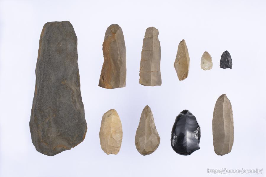 大平山元遺跡 最古の土器に伴う石器群