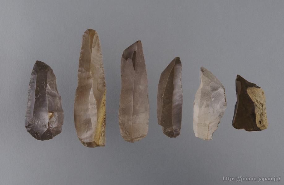 大平山元遺跡 石器