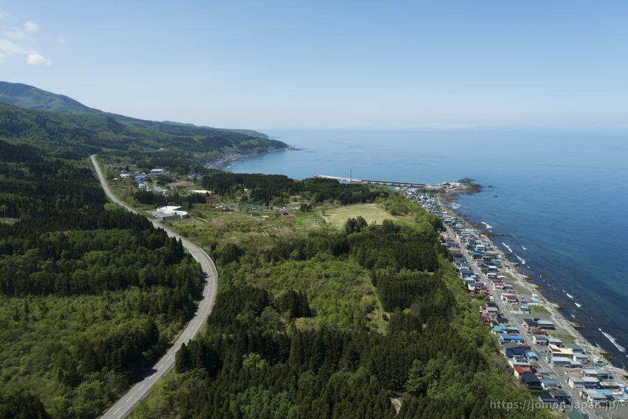 垣ノ島遺跡 遠景