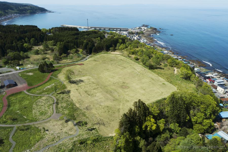 垣ノ島遺跡 盛土遺構