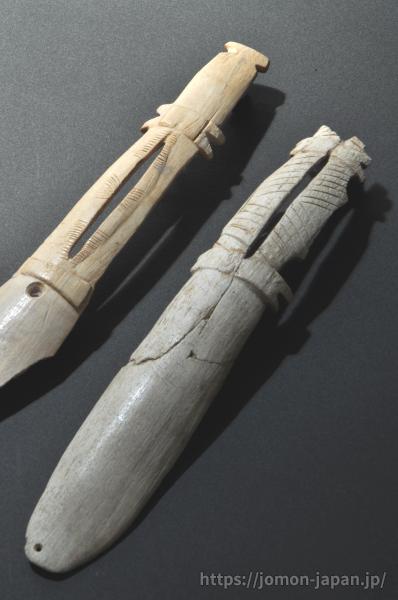 北黄金貝塚 スプーン状の祭祀道具