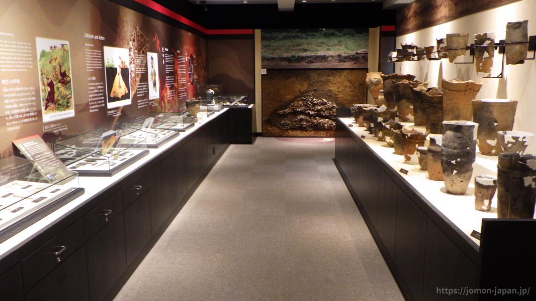 二ツ森貝塚館 展示室