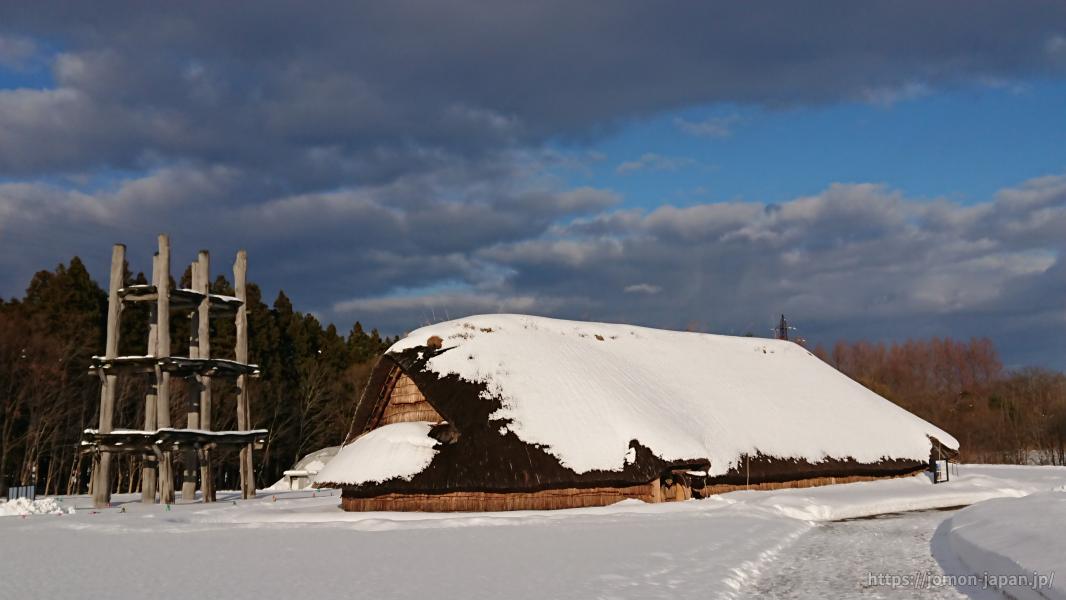 三内丸山遺跡 冬の風景