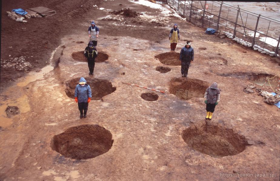 三内丸山遺跡 大型掘立柱建物跡