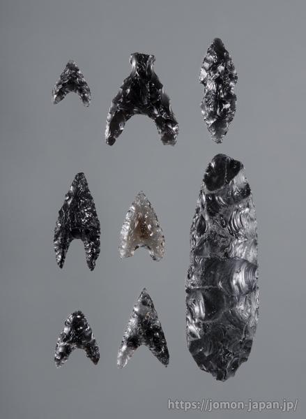 三内丸山遺跡 黒曜石製石器