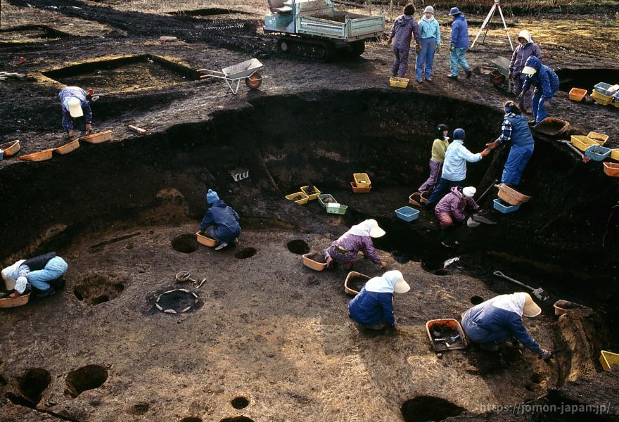 大船遺跡 発掘調査風景