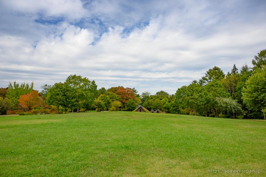 御所野遺跡 秋の風景