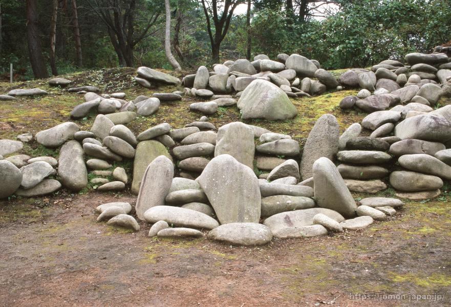 小牧野遺跡 環状列石(第1号特殊組石)