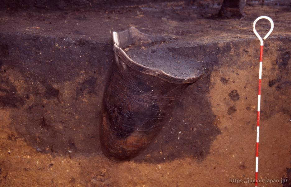 小牧野遺跡 埋設土器遺構