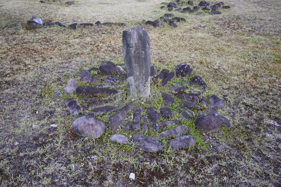 大湯環状列石 野中堂環状列石 日時計状組石