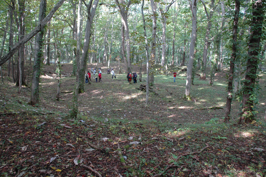 キウス周堤墓群 キウス1号周堤墓全景