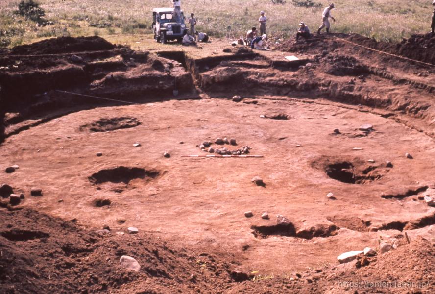 大森勝山遺跡 大型竪穴建物跡