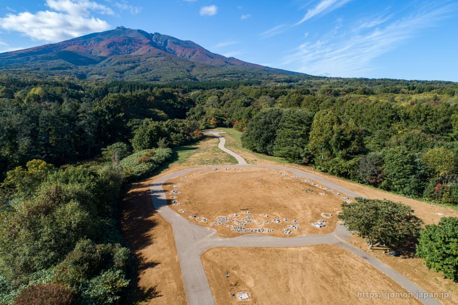 大森勝山遺跡 秋の風景2020