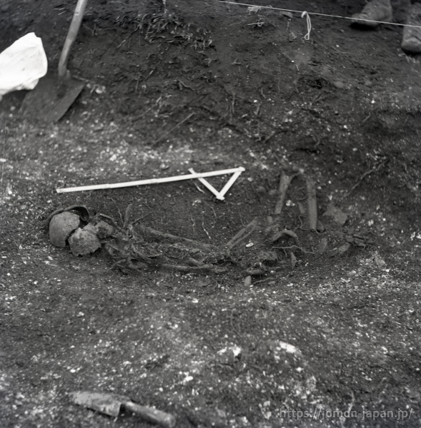 高砂貝塚 縄文時代晩期の土坑墓