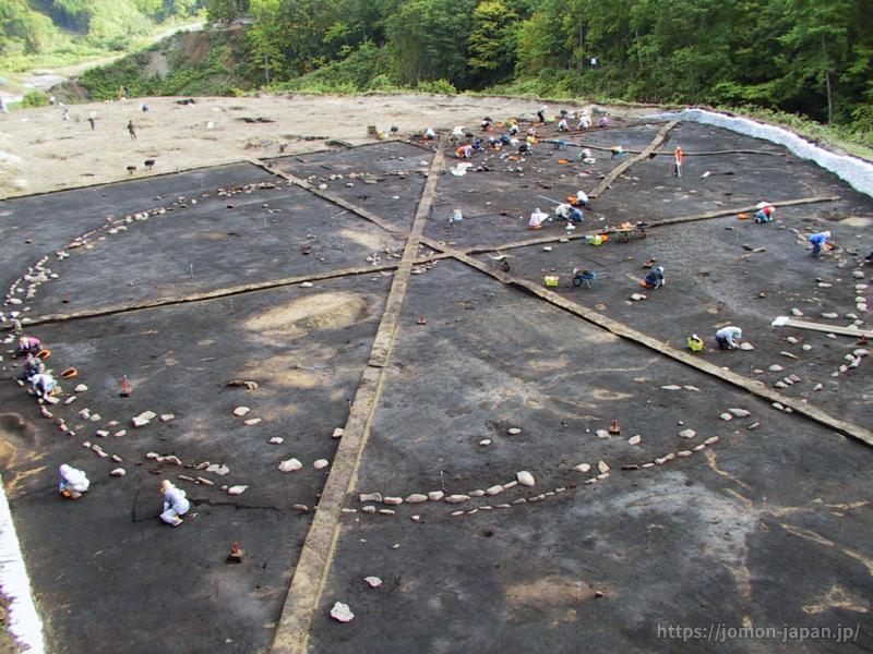 鷲ノ木遺跡 環状列石