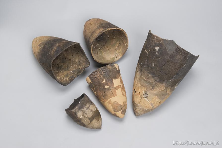 下田代納屋遺跡 貝殻文土器