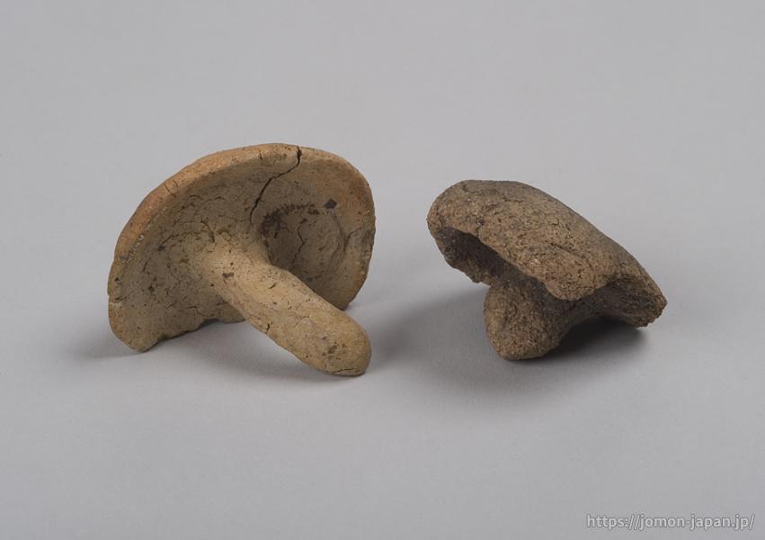 近野遺跡ほか キノコ形土製品