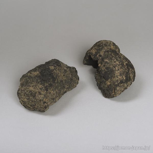 熊ヶ平遺跡 クッキー状炭化物
