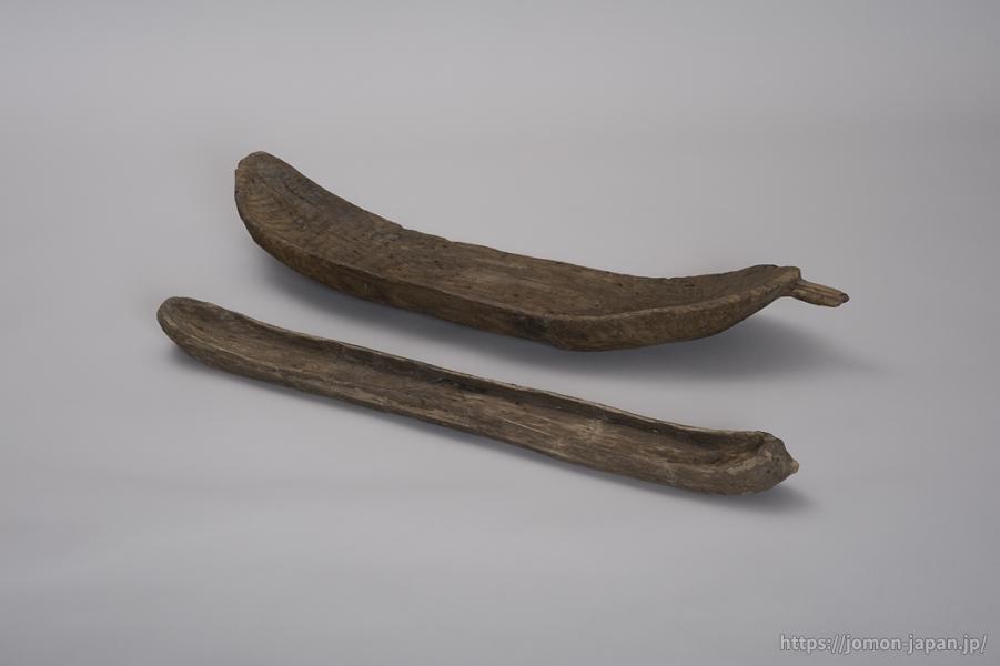 岩渡小谷(4)遺跡 舟形木製品