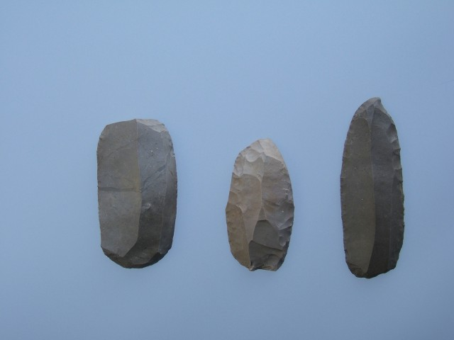 Gravers/scrapers excavated from the Odai-Yamamoto Site
