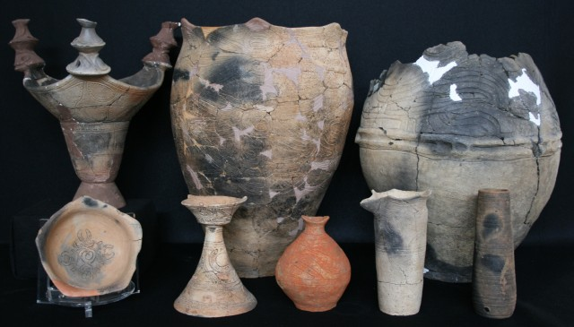 Tools for worship and celebration (Jomon pottery)