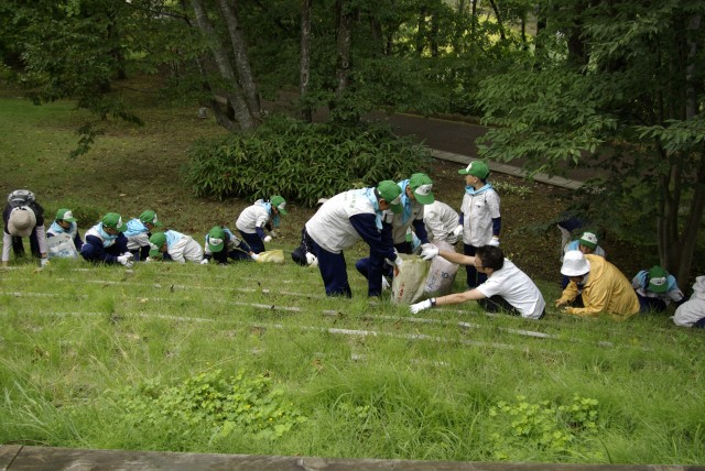 Activity of the Goshono Site Youth Club