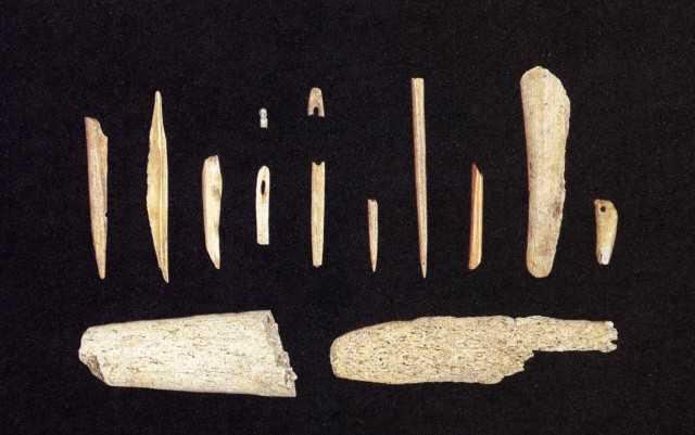 Bone and antler objects