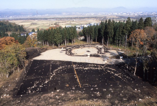 Overview of the Isedotai Site
