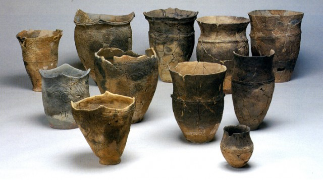 Excavated pottery, Ofune Site and other sites