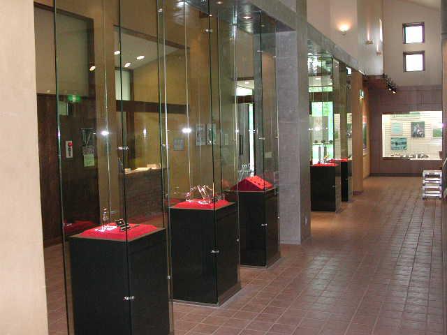 Exhibition at the Kitakogane Shell Mound Information Center ①