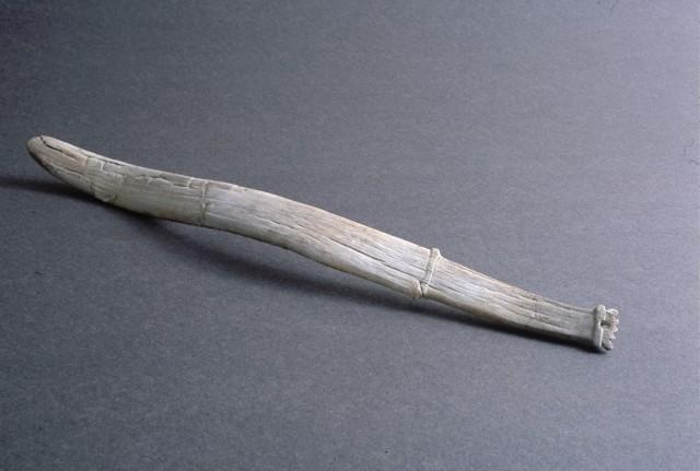 Whale-bone sword