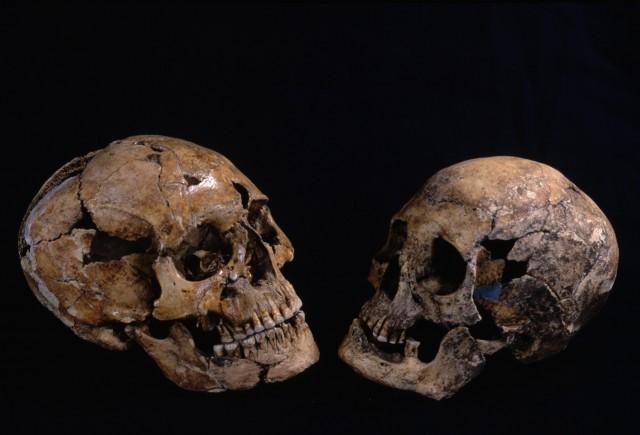 Jomon people from the Kitakogane Shell Midden