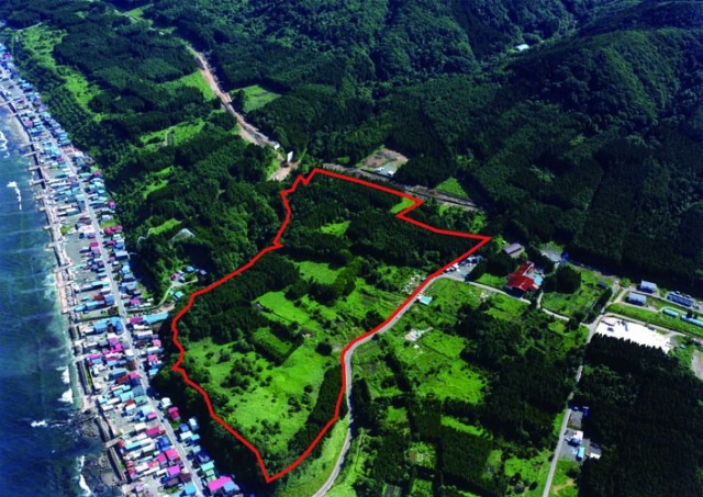 Full view of the Kakinoshima Site
