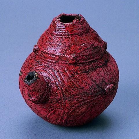 Lacquered spouted vessel, Kakinoshima Site