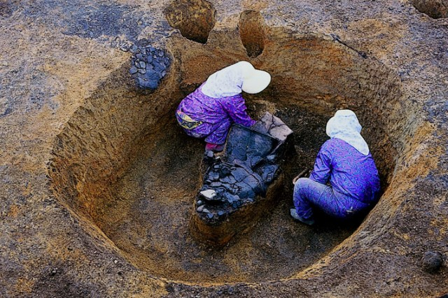 Pit grave, Ofune Site