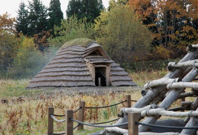 Restored dwelling, Ofune Site