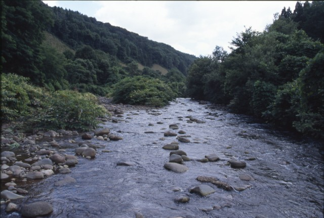 Arakawa River in the upper Tsutsumi River
