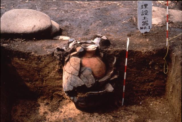 Pot burial
