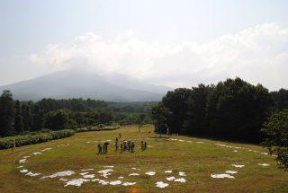 遺跡展望台からの眺め
