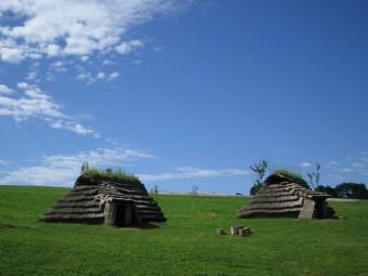 竪穴<small>(たてあな)</small>建物、竪穴<small>(たてあな)</small>住居