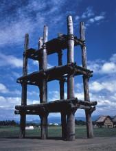 掘立柱<small>(ほったてばしら)</small>建物