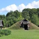 土ぶき屋根