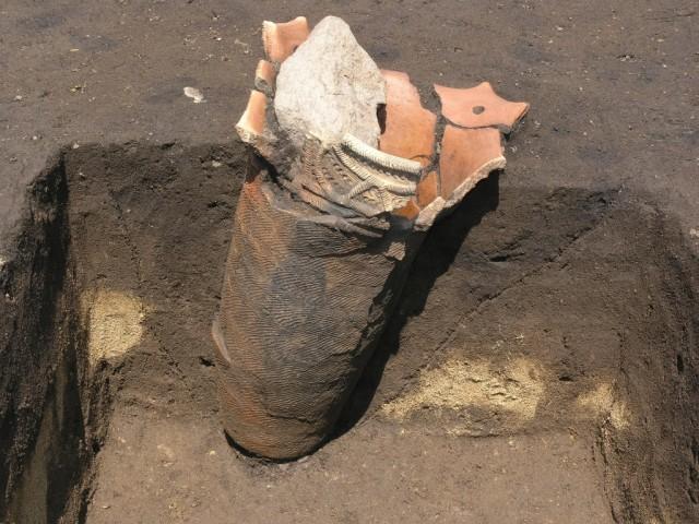 一王寺遺跡の埋設土器