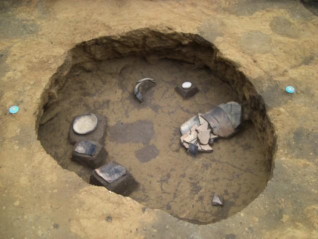 中期の土坑