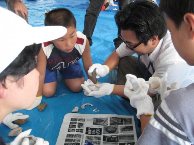 H23貝輪製作体験(小学生)