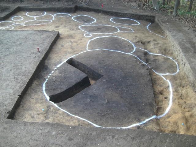 竪穴建物跡