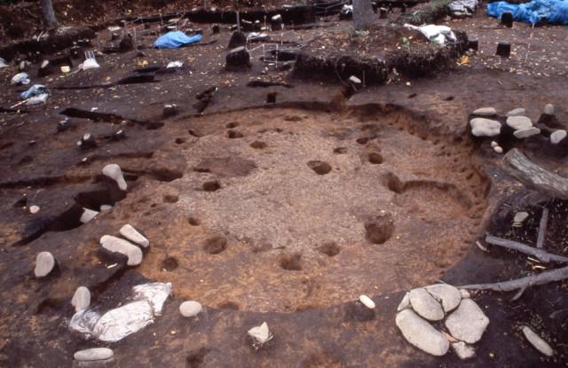 第2号竪穴建物跡