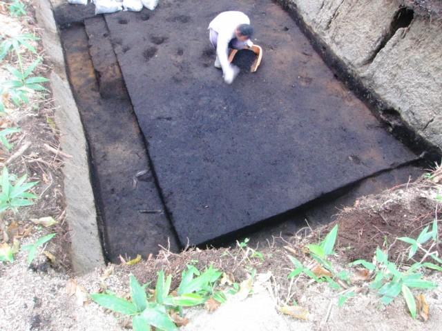 竪穴建物跡(発掘調査時)