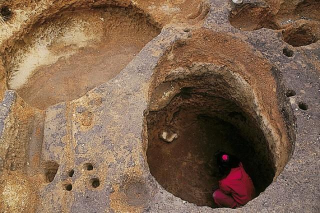 大船遺跡フラスコ状土坑
