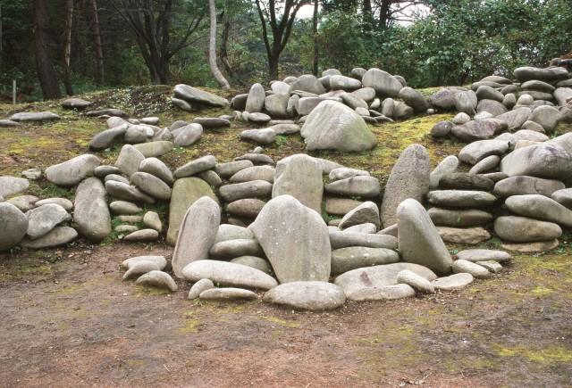 環状列石(第1号特殊組石)
